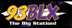 93 BLX: The Big Station Logo