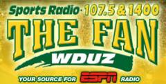 107.5 The Fan Logo