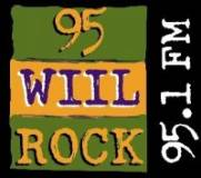 95.1 WILL Rock Logo